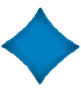"9"" Solid Diamond Royal Blue Brand Convergram Balloon"