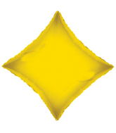 "18"" Solid Diamond Yellow Opaque"