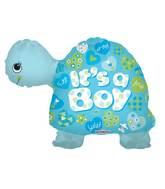 "24"" Baby Boy Turtle 3D Balloon"