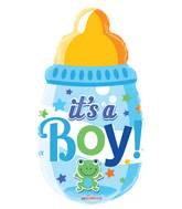 "20"" Baby Bottle Boy Shape Balloon"