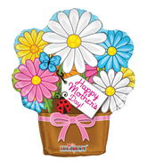 "18"" Mother's Day Flowerpot Shape"