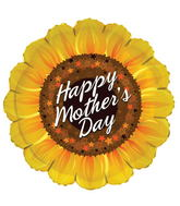"18"" Happy Mother&#39s Day Sunflower Shape"