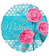 "18"" Happy Mother's Day 3 Roses Balloon"