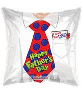 "18"" Father&#39s Day Tie Balloon"