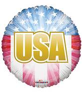 "18"" Usa Flag Balloon"