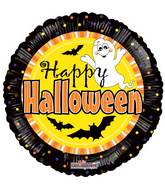 "9"" Airfill Only Halloween Ghost Balloon"