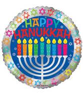 "17"" Happy Hannukah Balloon"