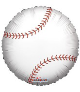 "18"" Foil Balloon Baseball Balloon"