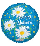 "4"" Airfill Mother's Day Daisies Balloon"