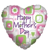 "36"" Happy Mother&#39S Day Balloon Squares"