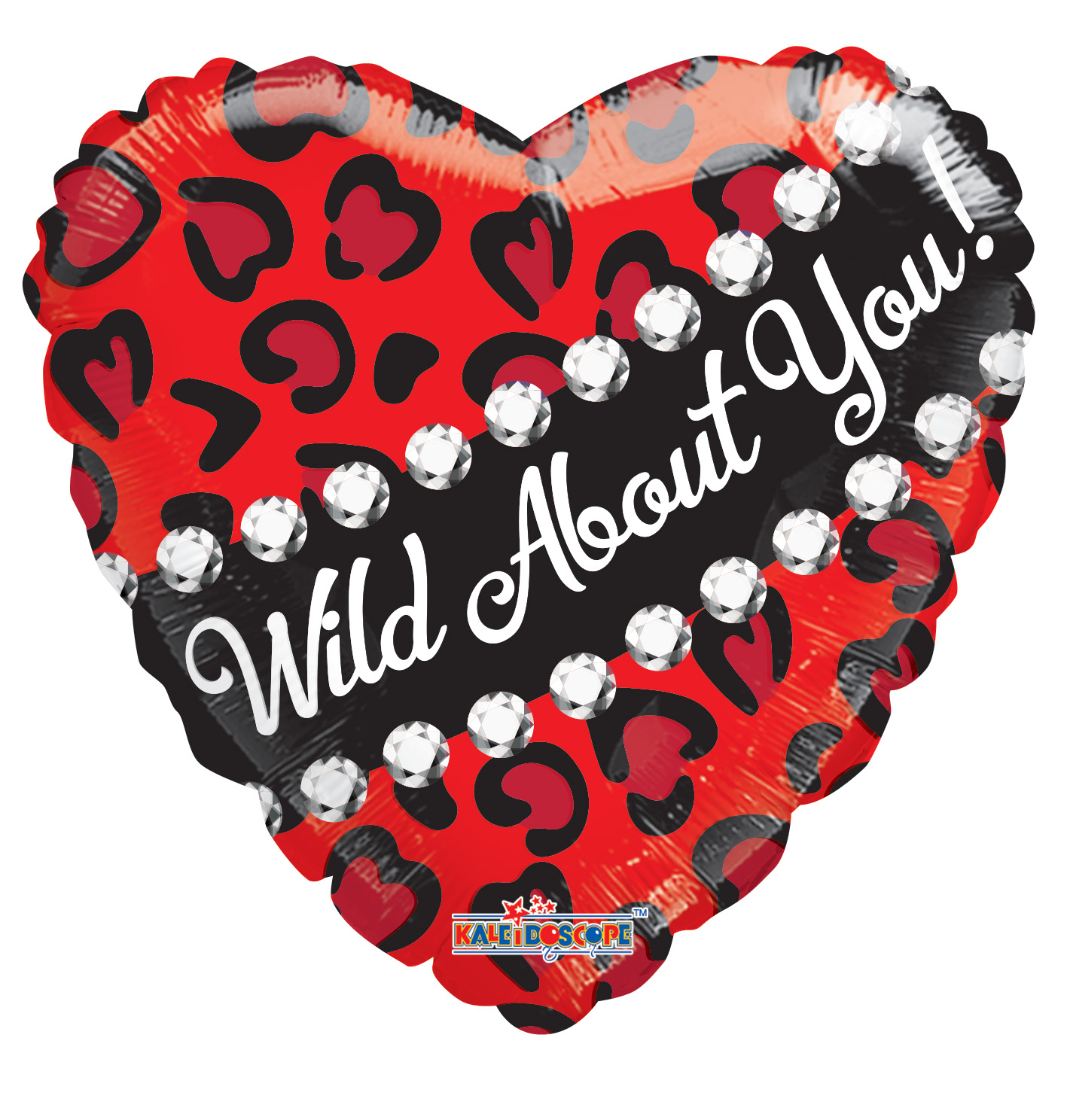 "18"" Wild About You Foil Balloon"