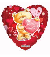 "18"" Be My Valentine Bear Balloon"