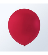 "9"" Creative Brand Cherry Red Latex Balloons (144 Per Bag)"