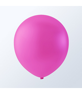 "5"" Fuschia Pink Latex Balloons (144 Per Bag)"