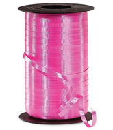 "3/16"" Poly Curling Ribbed Cerise (Fuschia) Ribbon"
