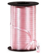 "3/16"" Poly Curling Ribbed Ribbon Pastel Pink"