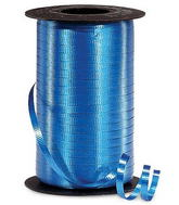 "3/16"" Poly Curling Ribbed Ribbon Royal Blue"