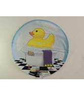 "18"" Duckie In Bathtub Mylar Balloon"