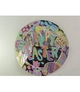 "18"" Happy Easter Pastel Mylar Balloon"