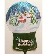 "33"" Happy Holiday Snow Globe"