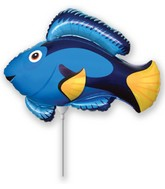 Mini Blue Fish Balloon