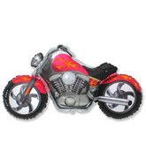 "45"" Motorcycle Red Balloon"