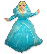 "39"" Winter Princess Balloon"