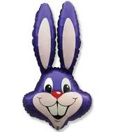 "35"" Rabbit Head Violet"