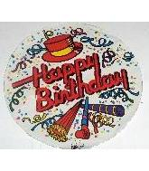 "7"" Airfill Birthday Celebration M587"