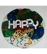 "7"" Airfill Birthday Balloons Streamers M269"