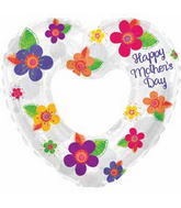 "31"" Happy Mother&#39s Day Pretty Flowers Balloon"