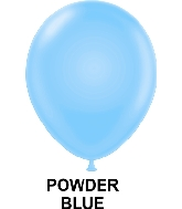 "11"" Fashion Party Style Latex Balloons (100 CT) Powder Blue"