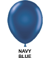 "9"" Fashion Party Style Latex Balloons (100 CT) Navy Blue"
