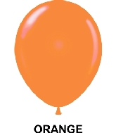 "9"" Standard Party Style Latex Balloons (100 CT) Orange"