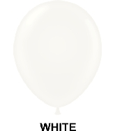 "11"" Standard Party Style Latex Balloons (100 CT) White"