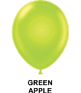 "9"" Fashion Party Style Latex Balloons (100 CT) Green Apple"