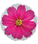"17"" Hot Pink Gerbera Flower Foil Balloon"