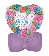 "14"" Airfill Only Happy Mother's Day Watercolor Balloon"