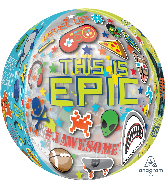 "16"" Orbz Epic Party Foil Balloon"