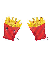 "28"" Jumbo French Fries Foil Balloon"