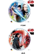 "22"" Star Wars Last Jedi Bubble Balloon"