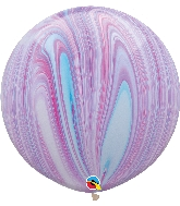 "30"" Fashion Super Agate Latex Balloon"