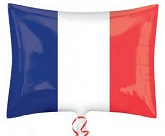 "21"" France Flag Balloon"