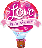 "42"" Love Is In The Air Balloon Foil Balloon"