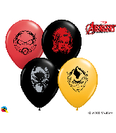 "5"" Marvel&#39s Characters Face (100 Per Bag) Latex Balloons"