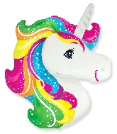 "41"" Jumbo Mylar Unicorn Head Balloon"