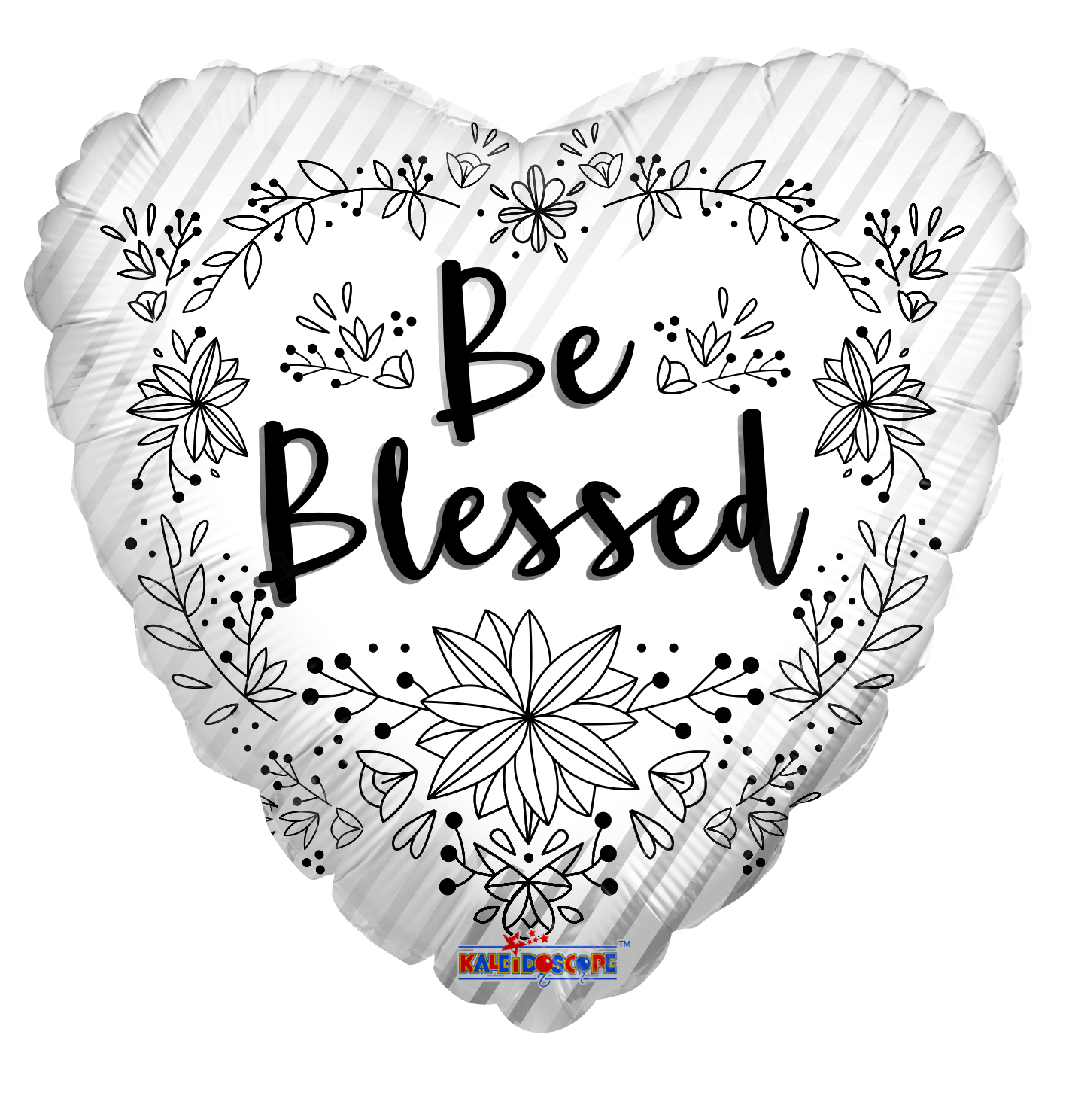 "18"" Be Blessed Foil Balloon"