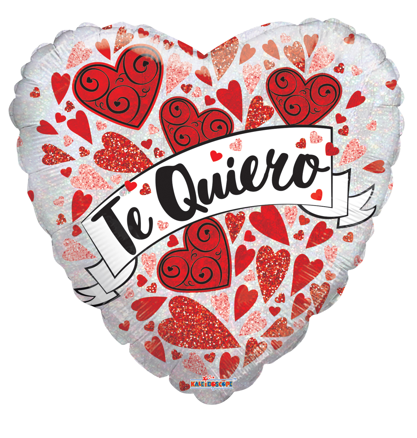 "18"" Te Quiero Banner Holographic Foil Balloon"