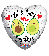 "18"" We Belong Togheter Foil Balloon"