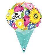 "31"" Multi-Sided Dimensionals™ Birthday Foil Balloon"